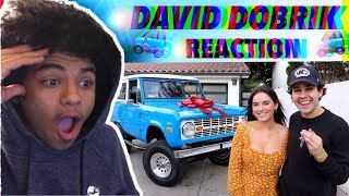DAVID DOBRIK -SURPRISING MY ASSISTANT FOR HER BIRTHDAY!! (REACTION)