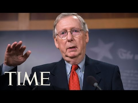 Mitch McConnell Doesn't Think Mexico Will Pay For President Trump's Border Wall | TIME