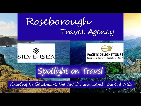 Spotlight On Travel: Cruising Galapagos, the Arctic, and Land Tours of Asia