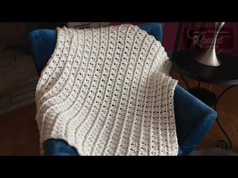Crochet Timeless Memories Baby Blanket Youtube