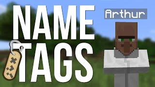 HOW TO GET & USE NAME TAGS - ON EVERY MOB!!!