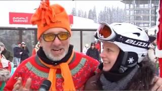 У Буковелі пройшов масштабний фестиваль Дідів Морозів
