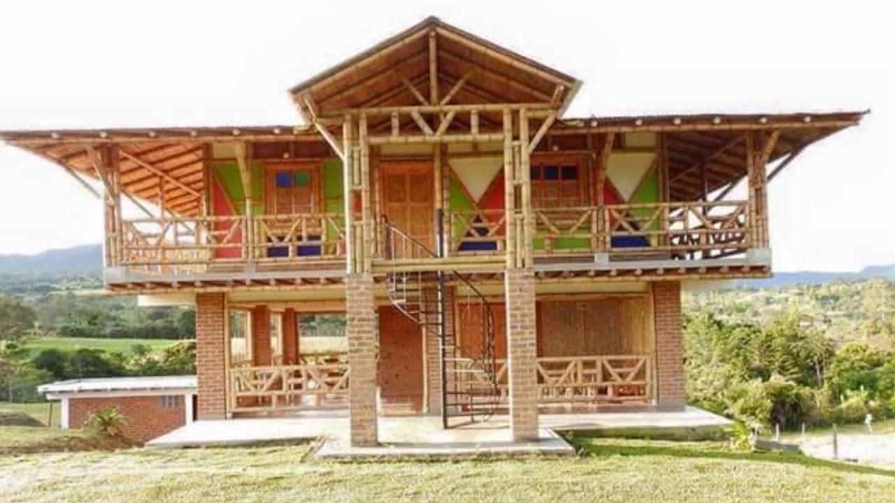 Home Ideas Bahay Kubo Native House Youtube