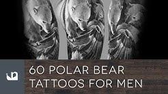 60 Polar Bear Tattoos For Men