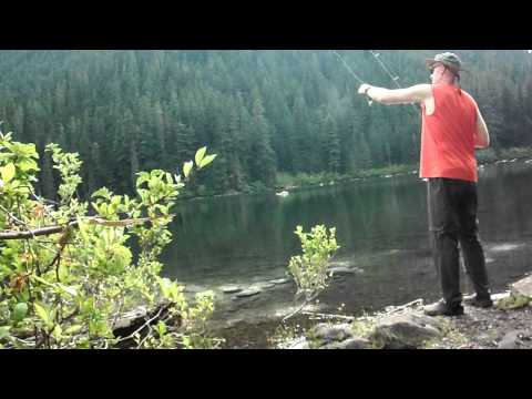 Fishing At Pamelia Lake