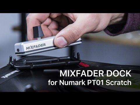 Mixfader Dock for Numark PT01 Scratch
