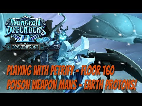 DD2 - Petrifying Ramparts Floor 160 - Poison Weapon Mans!