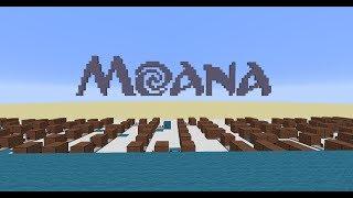 Moana - How Far I'll Go [Minecraft Noteblocks]