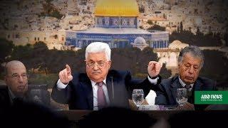 Palestinians meet to respond to Trump's 'slap of the century' thumbnail