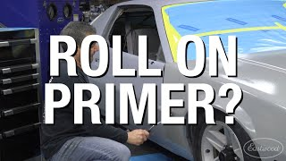OptiFlow Roll-On Primer System LIVE Demo - How to Roll On Primer and Get the BEST Results