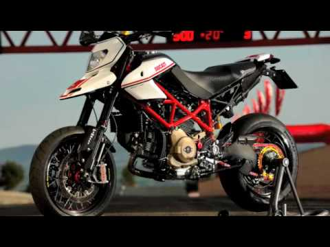 2010 ducati hypermotard 1100 evo sp on track video youtube. Black Bedroom Furniture Sets. Home Design Ideas