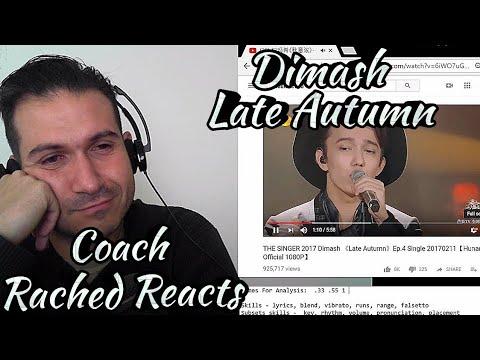Teacher Reaction + Analysis - Dimash - Late Autumn