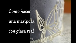 receta de glaseado real