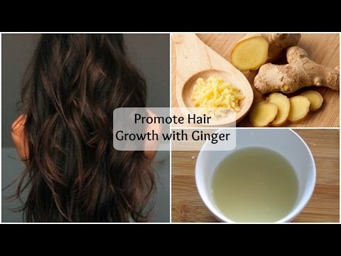 DIY Ginger Hair Mask for extreme hair growth   Promote Hair Growth