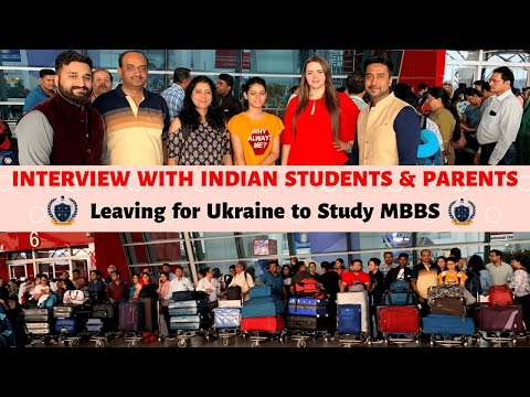 Indian Students Leaving For Ukraine To Study MBBS (2019 Batch) | Parents Review With Sandeep Singh