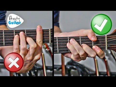 Easy barre chords guitar