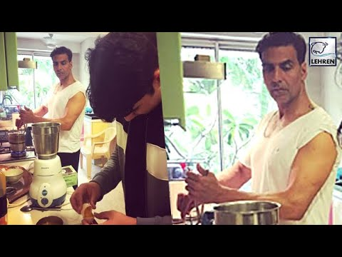 Thumbnail: Akshay Kumar Turns Into A Chef For Wife Twinkle Khanna | Inside Pictures | LehrenTV