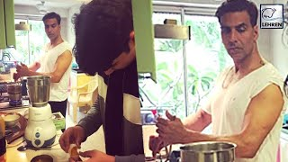 Akshay Kumar Turns Into Chef For Wife Twinkle Khanna | Inside Pictures | LehrenTV