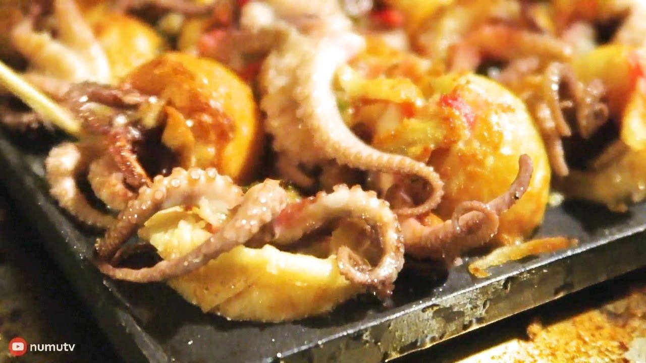 Philippines Street Food | BABY OCTOPUS Takoyaki in Kawit ...