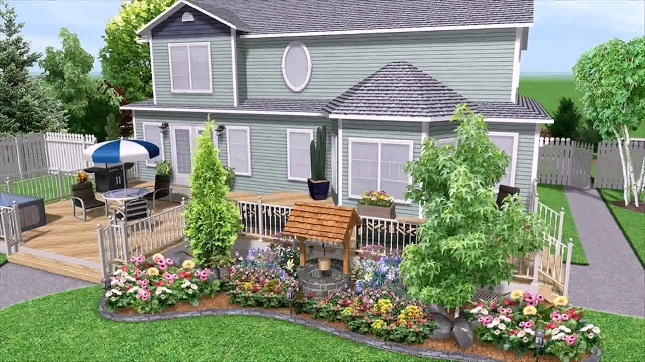 Free Landscaping Design Software Easy To Use - YouTube