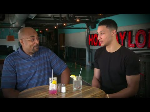 2016 NBA Draft - Dennis Scott sits with No.1 pick Ben Simmons