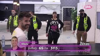 Zadruga 4 - Nikad žustriji okršaj Miljane i Kristijana, lom u Beloj kući - 07.02.2021.