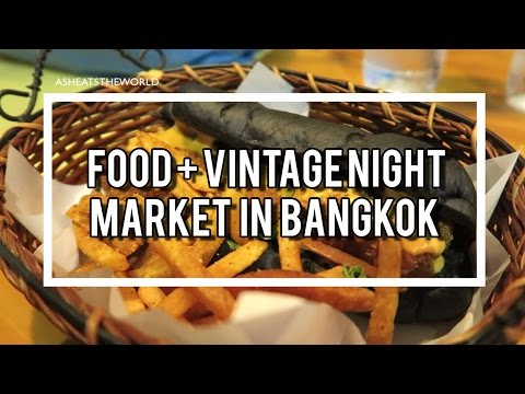 Food + Vintage Night Market in Bangkok