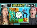 Adults React To Perfect Timing Fortnite