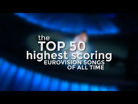 the Top 50 Highest Scoring Eurovision Songs of All Time (up to 2015)