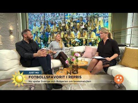 Klassiska bronsmatchen spelas igen - 22 år senare! - Nyhetsmorgon (TV4)