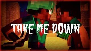 ♪ Take Me Down | Minecraft Parody | Lyrics
