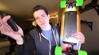 NEW ELECTRIC SKATEBOARD!! (Acton Blink S)