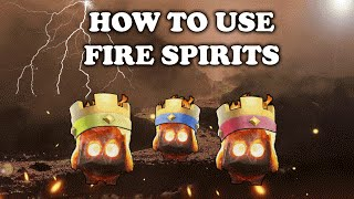 Clash Royale | How to Use and Counter Fire Spirits