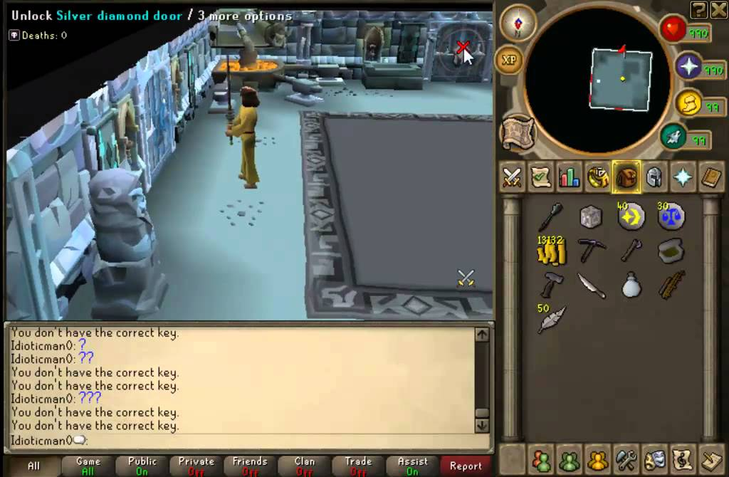 Runescape Dungeoneering - no key no ggs glitch & Runescape Dungeoneering - no key no ggs glitch - YouTube