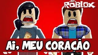 QUASE MORREMOS DO CORAÇÃO! - Roblox (The Horror Elevator) thumbnail