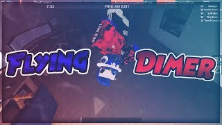 FLYING DIMER! [Flee The Facility ROBLOX]