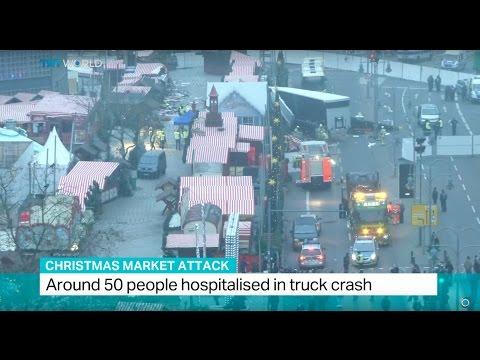 Christmas Market Attack: Truck drives into outdoor market in Berlin