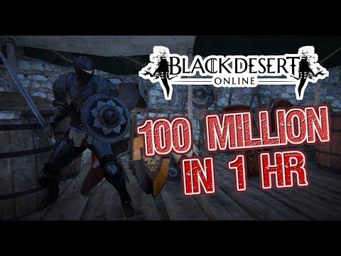 Earn 100 Million Silver In 1 Hr. - Black Desert Online Abandoned Iron Mines