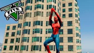 GTA V PC MODS - SPIDERMAN EN LOS SANTOS !! OMG - RANDOM MOMENTS - ElChurches