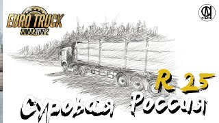 Euro Truck Simulator 2 (1.39) / Суровая Россия R 25 / MAN(Корал) / # 103