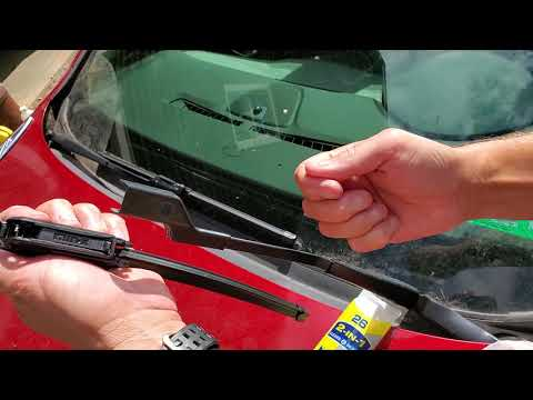How to install Windshield Wipers on Buick Verano 2010 – 2019