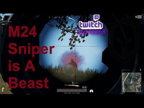 M24 Sniper Best Weapon - battlegrounds