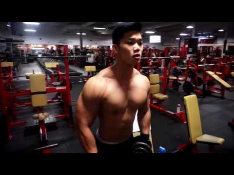 Athlete Rechie Wong Offseason Training Delts | Coach James Ayotte | Team Atlas