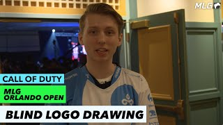 Draw your own teams logo blindfolded | MLG Orlando Open 2016