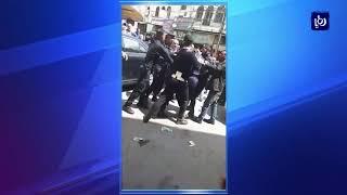 الأمن يحقق بفيديو يظهر مشادة بين عناصره ومواطن في إربد