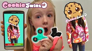 Calling CookieSwirlC *OMG* She Answered & FIDGET SPINNER GIVEAWAY Cookie Swirl C 1000 MPH