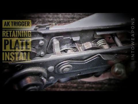 AK Trigger Upgrade: Tapco Retaining Plate Installation