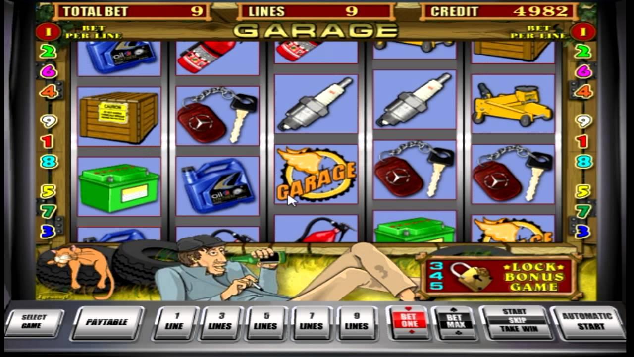 игровые автоматы вулкан гараж