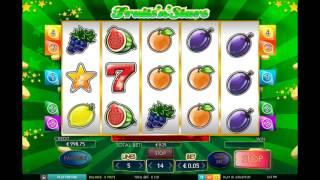 Как играть онлайн в игровой автомат Fruits n Stars. Видео для обучения.