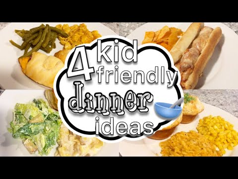 4 Kid Friendly Dinner Ideas // Kid Approved Meals // Easy Dinner Ideas // Cook With Me